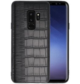 Croco Hard Case voor Samsung Galaxy S9 Plus Zwart