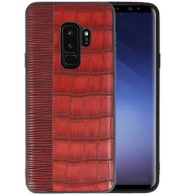 Croco Hard Case voor Samsung Galaxy S9 Plus Rood