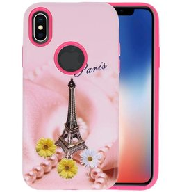 3D Print Hard Case voor iPhone X Paris