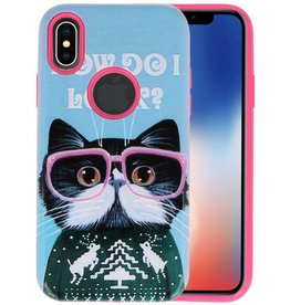 3D Print Hard Case voor iPhone X I Look