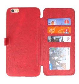 Back Cover Book Design Hoesje voor iPhone 6 Plus Rood