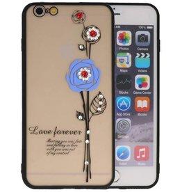 Love Forever Hoesjes voor iPhone 6 / 6s Plus Blauw
