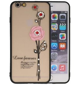 Love Forever Hoesjes voor iPhone 6 / 6s Plus Roze