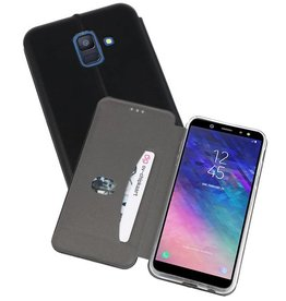 Slim Folio Case Samsung Galaxy A6 2018 Zwart