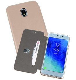 Slim Folio Case voor Galaxy J3 2018 Goud
