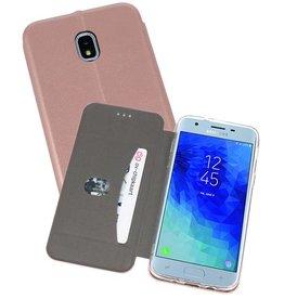 Slim Folio Case Samsung Galaxy J3 2018 Roze