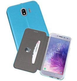 Slim Folio Case voor Galaxy J4 Blauw