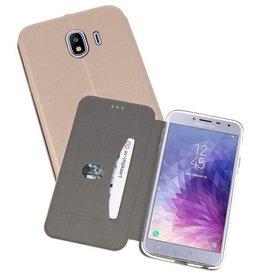 Slim Folio Case Samsung Galaxy J4 Goud