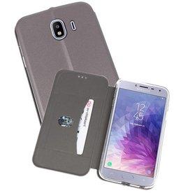 Slim Folio Case Samsung Galaxy J4 Grijs