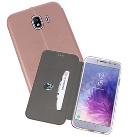 Slim Folio Case voor Galaxy J4 Roze