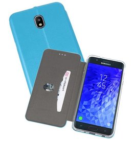 Slim Folio Case voor Galaxy J7 2018 Blauw