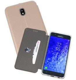 Slim Folio Case Samsung Galaxy J7 2018 Goud