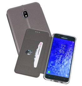 Slim Folio Case Samsung Galaxy J7 2018 Grijs