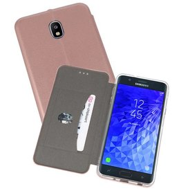 Slim Folio Case Samsung Galaxy J7 2018 Roze