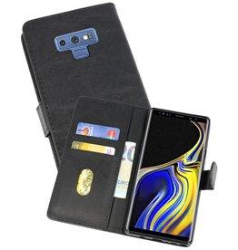 Samsung Galaxy Note 9 Hoesje Kaarthouder Book Case Telefoonhoesje Zwart