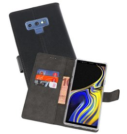 Wallet Cases Hoesje Galaxy Note 9 Zwart