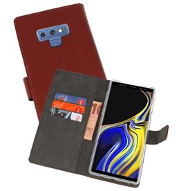 Wallet Cases Hoesje Galaxy Note 9 Bruin