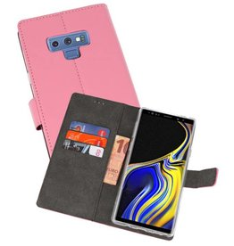 Wallet Cases Hoesje Galaxy Note 9 Roze
