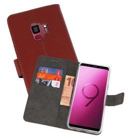 Wallet Cases Hoesje Samsung Galaxy S9 Bruin