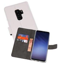 Wallet Cases Hoesje Samsung Galaxy S9 Plus Wit