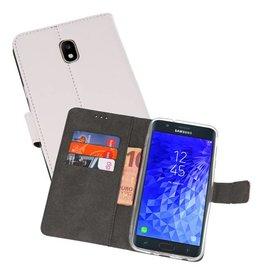 Wallet Cases Hoesje Samsung Galaxy J7 2018 Wit