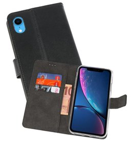 Wallet Cases Hoesje iPhone XR Zwart