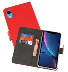 Wallet Cases Hoesje iPhone XR Rood
