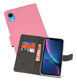 Wallet Cases Hoesje iPhone XR Roze