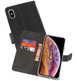 Wallet Cases Hoesje iPhone XS Max Zwart