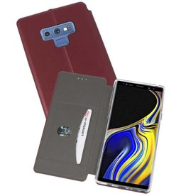 Slim Folio Case Samsung Galaxy Note 9 Bordeaux Rood