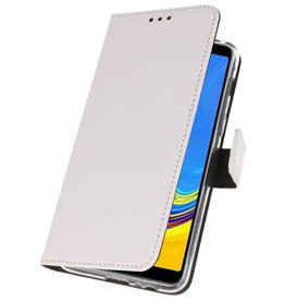 Wallet Cases Hoesje Galaxy A7 (2018) Wit