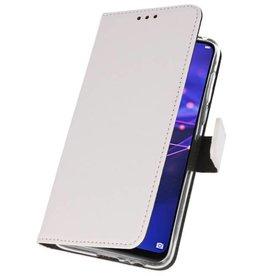 Wallet Cases Hoesje Huawei Mate 20 Lite Wit