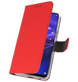 Wallet Cases Hoesje Huawei Mate 20 Lite Rood
