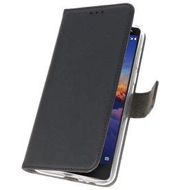 Wallet Cases Hoesje Nokia 3.1 Zwart