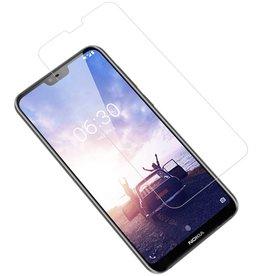 Tempered Glass voor Nokia 6.1 Plus