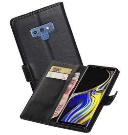 Zakelijke Bookstyle Hoesje Galaxy Note 9 Zwart