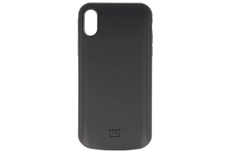 Battery Case voor iPhone XR 5000 mAh Audio Zwart