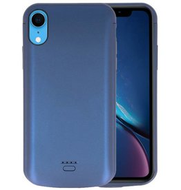 Battery Case iPhone XR 5000 mAh Blauw