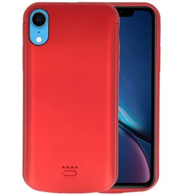 Battery Case iPhone XR 5000 mAh Rood