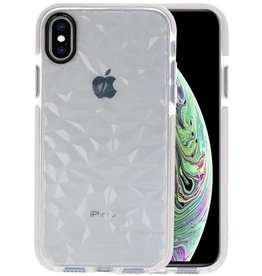 Transparant Geometric Style Siliconen Hoesje iPhone XS / X
