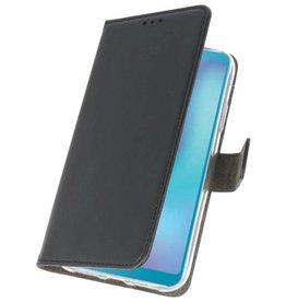 Wallet Cases Hoesje Samsung Galaxy A6s Zwart