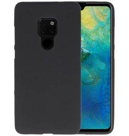 BackCover Hoesje Color Telefoonhoesje Huawei Mate 20 - Zwart