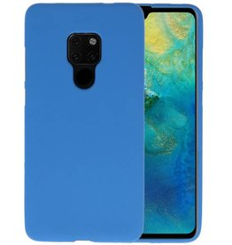 Color TPU Hoesje Huawei Mate 20 Navy