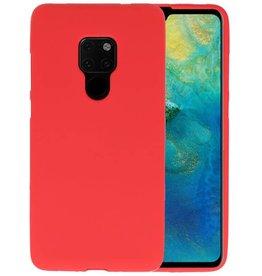 BackCover Hoesje Color Telefoonhoesje Huawei Mate 20 - Rood