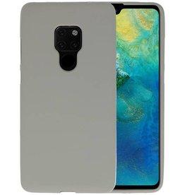 BackCover Hoesje Color Telefoonhoesje Huawei Mate 20 - Grijs