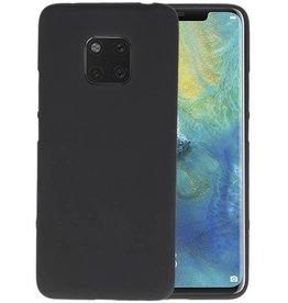 BackCover Hoesje Color Telefoonhoesje Huawei Mate 20 Pro - Zwart