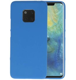 Color TPU Hoesje Huawei Mate 20 Pro Navy