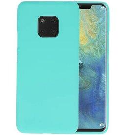 BackCover Hoesje Color Telefoonhoesje Huawei Mate 20 Pro - Turquoise
