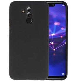 BackCover Hoesje Color Telefoonhoesje Huawei Mate 20 Lite - Zwart