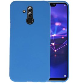 Color TPU Hoesje Huawei Mate 20 Lite Navy